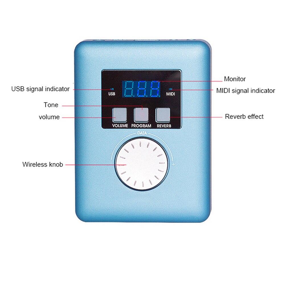 Mini Motor USB Módulo de sonido MIDI, piezas del generador de interfaz MIDI General Midikeyboard MIDI, sintetizador Midi portátil O25