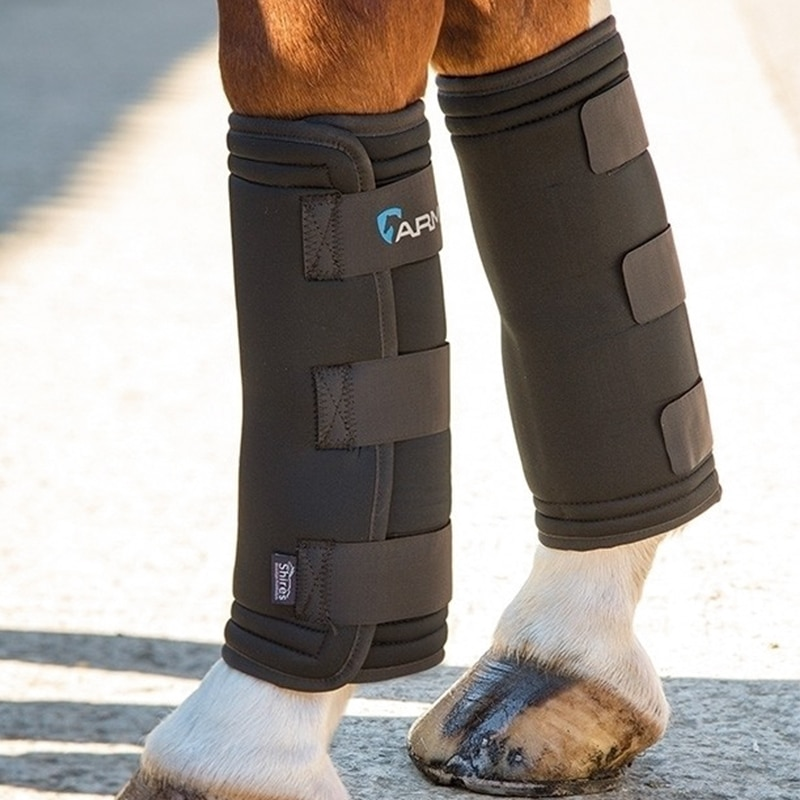 Equine Ice Compress Horse Boots usage for reliving pains and preventing up horse leg Muscle everyday Equestrian Equipments