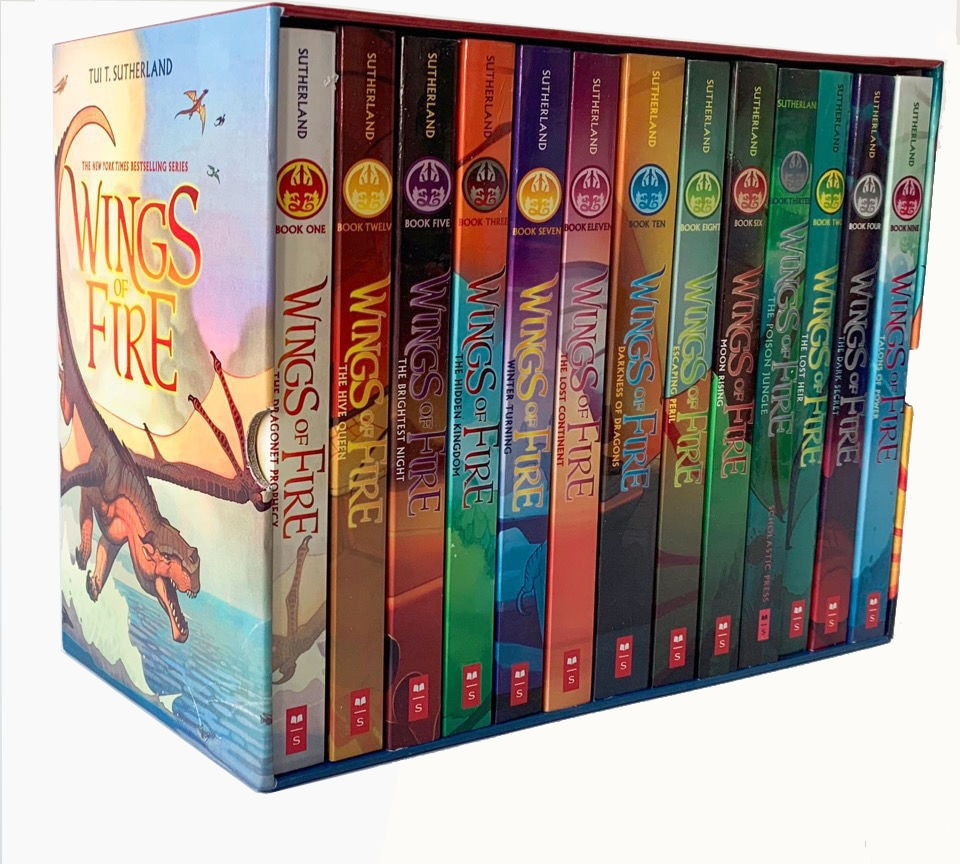 13 Books Wings of Fire Children's Adventure Story Science Fiction Bridge Book Learning English Read Gift book sets in english