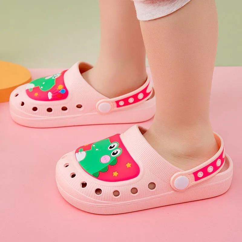 أطفال الصيف الشرائح عادية بابيس الصنادل الطفل النعال حذاء للحديقة الصغار croc الصنادل الفتيان الأحذية