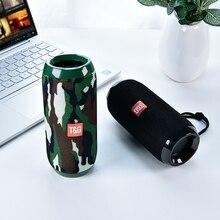 Mini Bluetooth hoparlör TG1117 Bluetooth açık hoparlör su geçirmez taşınabilir kablosuz hoparlör desteği TF kart FM radyo hoparlör