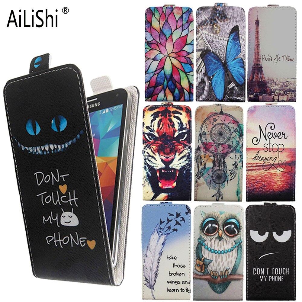 Funda AiLiShi para Oukitel C21 Google Pixel 4a Vivo S7 abatible hacia arriba y hacia abajo Funda de cuero PU exclusiva 100% funda de teléfono