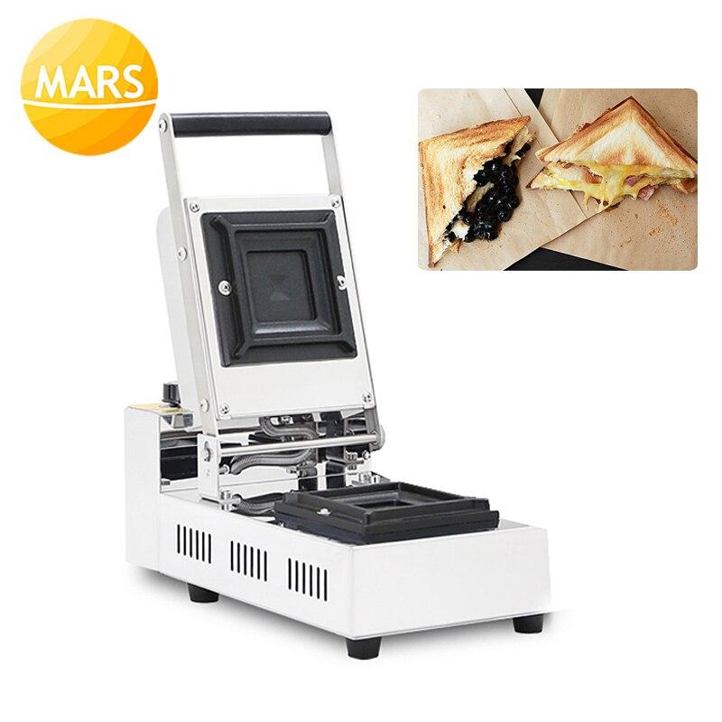 Машина для приготовления сэндвичей для малого бизнеса, машина для приготовления тостов, карманная машина для хлеба и торта, тостер для горя...
