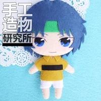 anime seiichi yukimura 12cm soft stuffed toys diy handmade pendant keychain doll creative gift