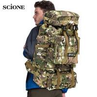 Тактический рюкзак XA583WA на 70 л, мужской, военный, для альпинизма, путешествий, занятий спортом, охоты, кемпинга