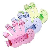 Pet Bath Brush Gloves Massage Palm Five Finger Brush Beauty Products Pet Cleaning