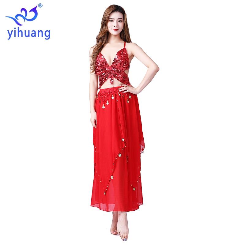 Women Belly Dance Costume Oriental bellydance Skirt Stage Performance Bra Skirt Bellydancing Wear