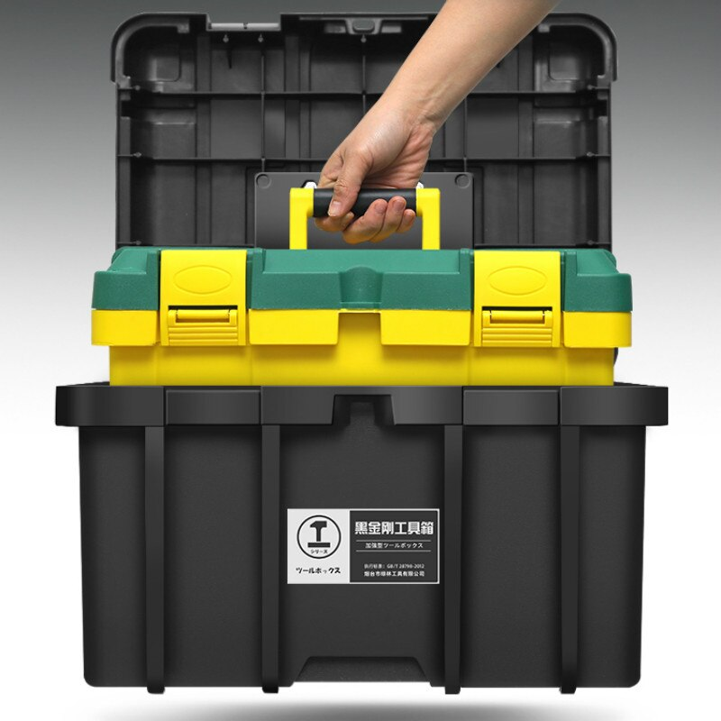 Professional Organizer Tool Box Multifunction Hard Case Storage Protective Tool Box Caixa Ferramenta Tools Packaging DB60GJ
