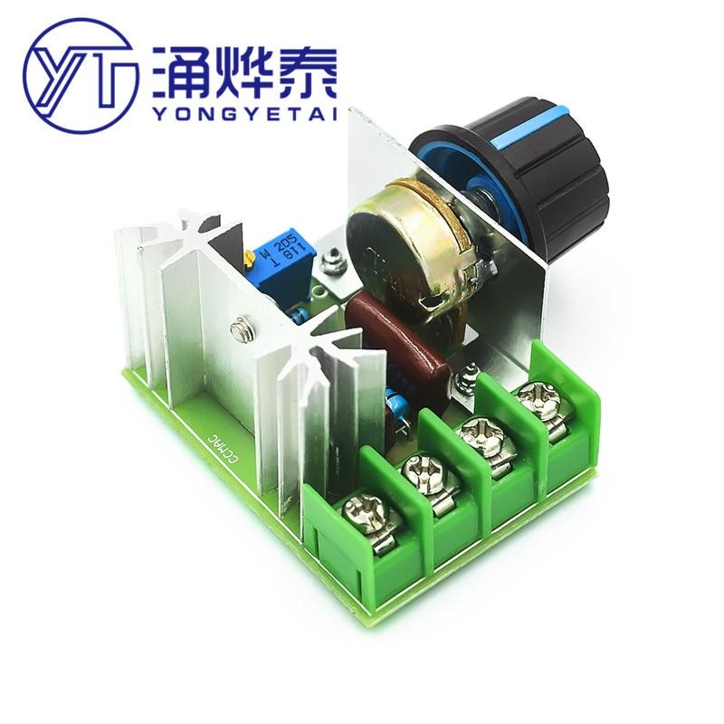 Регулятор напряжения, диммирующий потенциометр, контроллер скорости двигателя, электронный модуль регулятора напряжения с термостатом, пе...