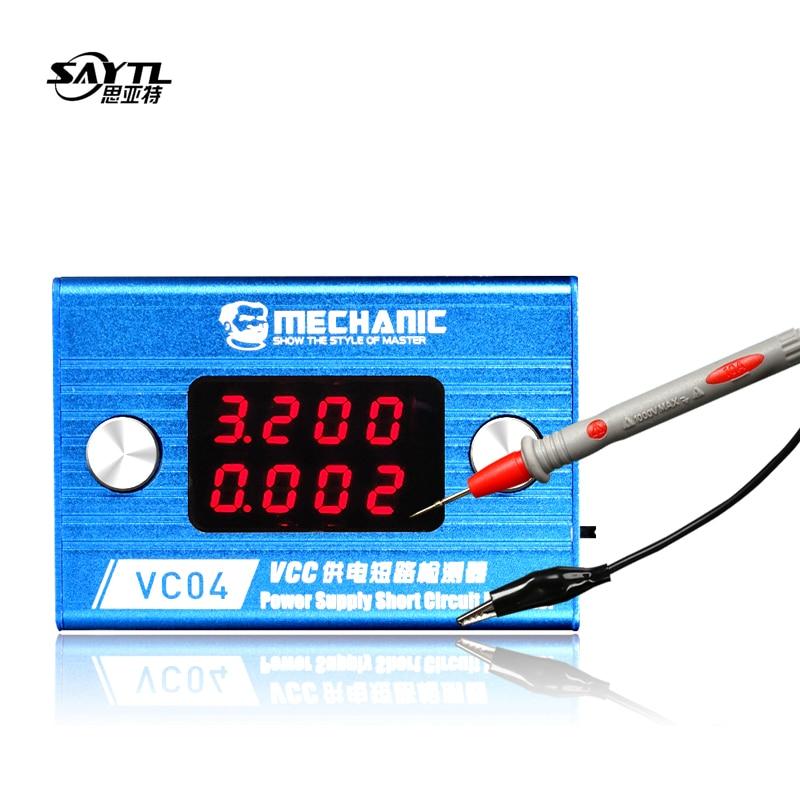 MECHANIC Short Killer Motherboard Short Circuit Burning Repair Tool Box for iPhone Mobile Phone Short Circuit Repair Shortkiller