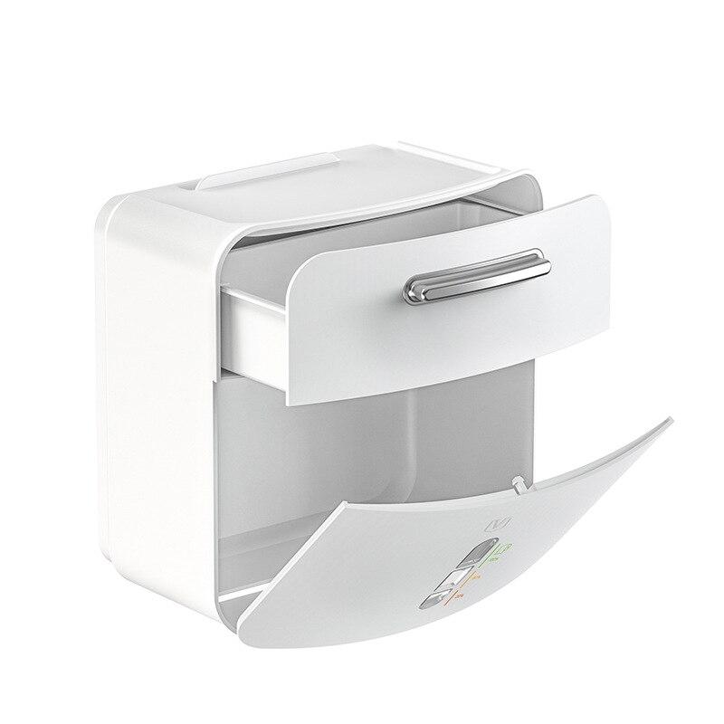 صندوق ورق تواليت الإبداعية لفة صندوق ورقي مقاوم للماء متعددة الوظائف تخزين البلاستيك للبيع بالجملة صندوق ورق المرحاض