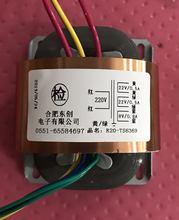 Transformateur personnalisé 22V 0,5a 22V 0,5a 8V 0,8a   Transformateur R Core R20 30VA 220V, bouclier en cuivre dentrée pour pré-amplificateur, alimentation