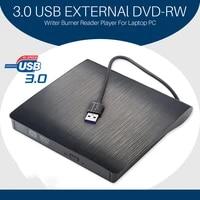 portable usb 3 0 dvd rom optical drive external slim cd rom disk reader desktop pc laptop tablet promotion dvd player
