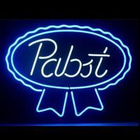 Custom Pabst כחול סרט זכוכית ניאון אור סימן באר בר