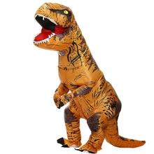 Hot T-REX Dinosaur gonfiabile Costume Party costumi Cosplay fantasia mascotte Anime Costume di Halloween per adulti bambini Dino Cartoon