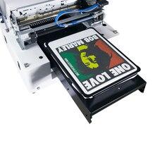 Vente chaude multicolore à plat directement au vêtement DTG imprimante A3 taille textile tissu machine dimpression