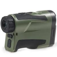 laser rangefinder telescope lithium battery chargeable hunting rangefinder 600m
