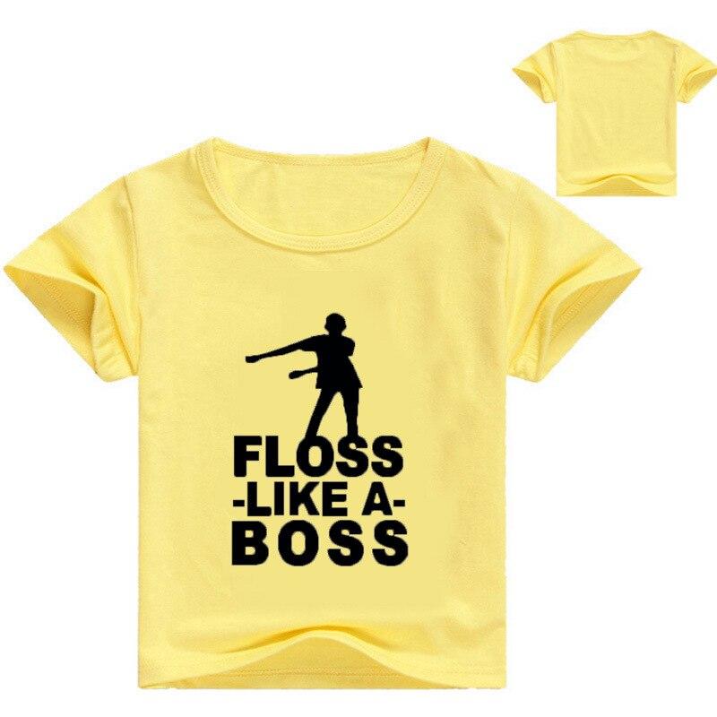 DLF 2-16Y Jungen Tops Sommer 2020 Kinder T Shirts Mädchen Kleidung Kinder T Shirt Fille Floss Wie EIN Chef Charakter baby T-shirt