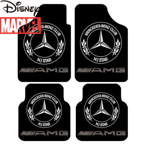 Disney Marvel Captain America Car Foot Pads Washable Main and Co-pilot Foot Pads Universal Four Seasons Non-slip Waterproof Pad enlarge