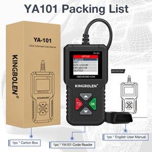 Image 5 - KINGBOLEN YA101 читатель Кода OBDII/EOBD (система бортовой диагностики, YA 101 Авто диагностический инструмент графика данных OBD2 реальные 16Pin DIY сканер CR3001