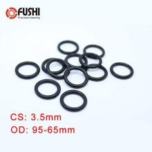 CS3.5mm NBR ORing OD 95/100/105/110/50/51/52/53/54/55/56/57/58/59* 3.5mm 50PCS O-Ring Nitrile Gasket seal Thickness 3.5mm ORing