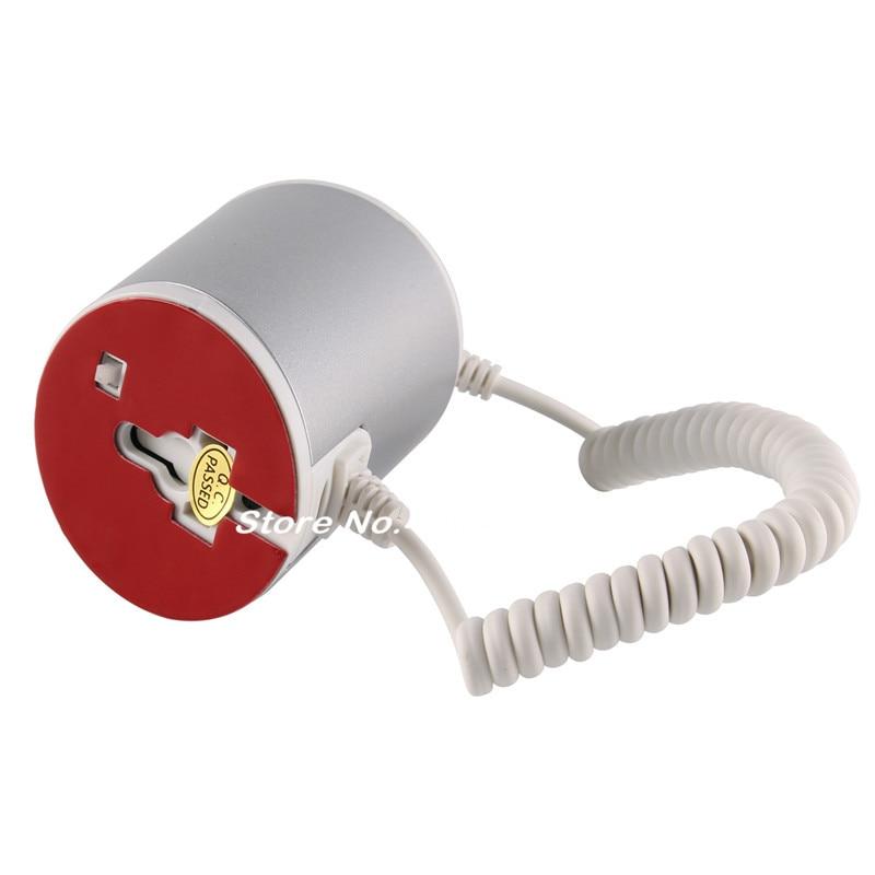 (12 set/lot) white golden sliver color optional ABS adhesive fixed remote control charging function smartphone shop alarm holder enlarge