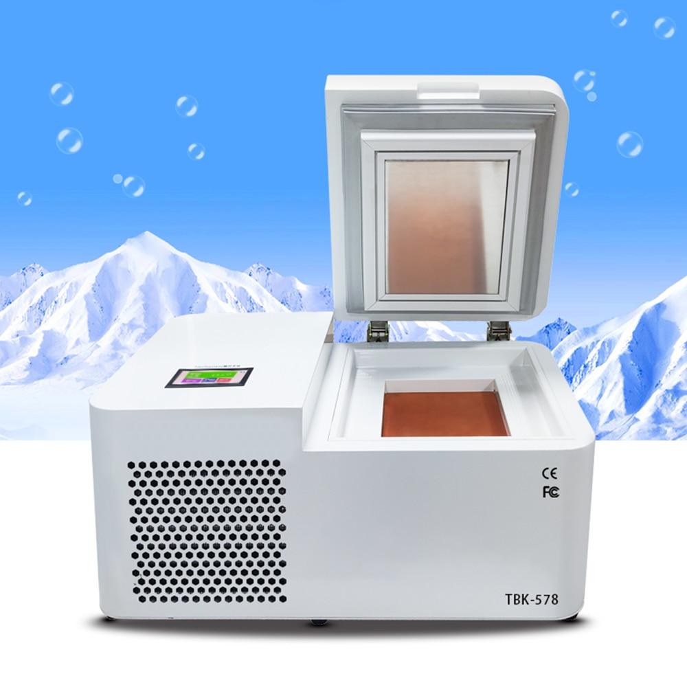 Mini Desktop LCD Screen Separator Freezer Separating Machine for phone Edge Tablet Screen Refurbishment