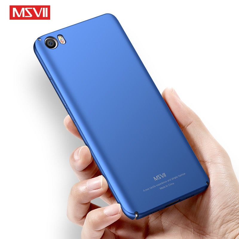 Funda mate Mi5 Msvii para Xiaomi Mi 5 S Pro, funda Xiomi Mi5S Mi5x, funda dura de PC para Xiaomi Mi 5S Mi 5X Mi5 S