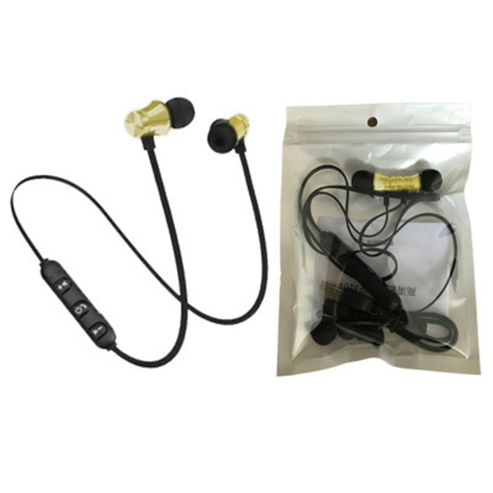 XT11 auriculares inalámbricos magnéticos auriculares estéreo deportivos impermeables auriculares inalámbricos con micrófono para iPhone en stock