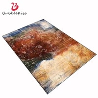 bubble kiss retro thread flower carpet for living room make old design abstract large rugs home decor sofa bedroom soft rugs