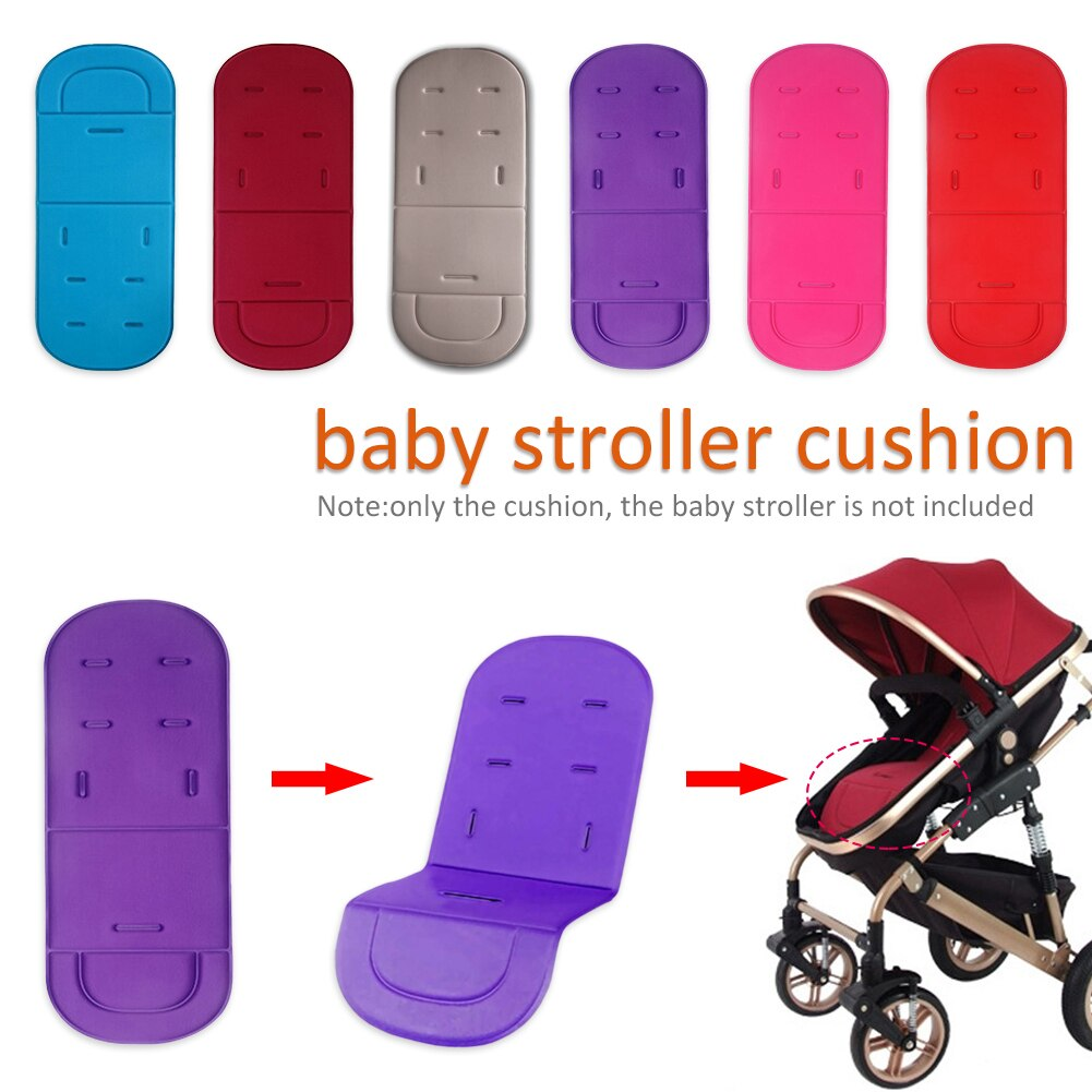 Baby Stroller Seat Cushion  Kids Pushchair Car Cart High Chair Seat Trolley  Soft Mattress Baby Stroller  Cushion Pad Accessorie baby stroller high view vip mode baby stroller with safety seat shockproof portable baby cart