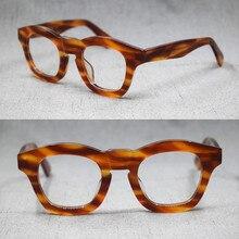 1960's Japan Handmade Italy Acetate Reading Glasses Full Rim Top Quality +50 +75 +100 +125 +150 +175 +200 +225 +250 +275
