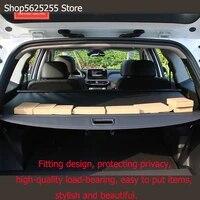 car trunk curtain cover for hyundai santa fe 2019 2020 changes car decoration partition board car decorations