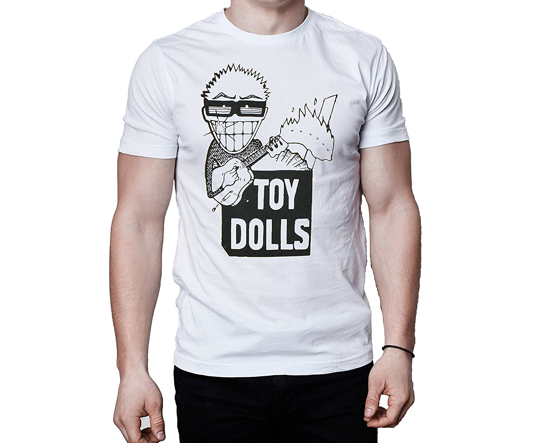 ¡Muñecas de juguete chismes 1986 camiseta Punk Oi! Punk Street Punk hombres Tops camisetas 2017 verano moda nuevos hombres cuello redondo Camiseta