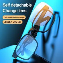 Sport Stereo Wireless Bluetooth 5.0 Waterproof Headset Telephone Driving Sunglasses Lens Mp3 Riding