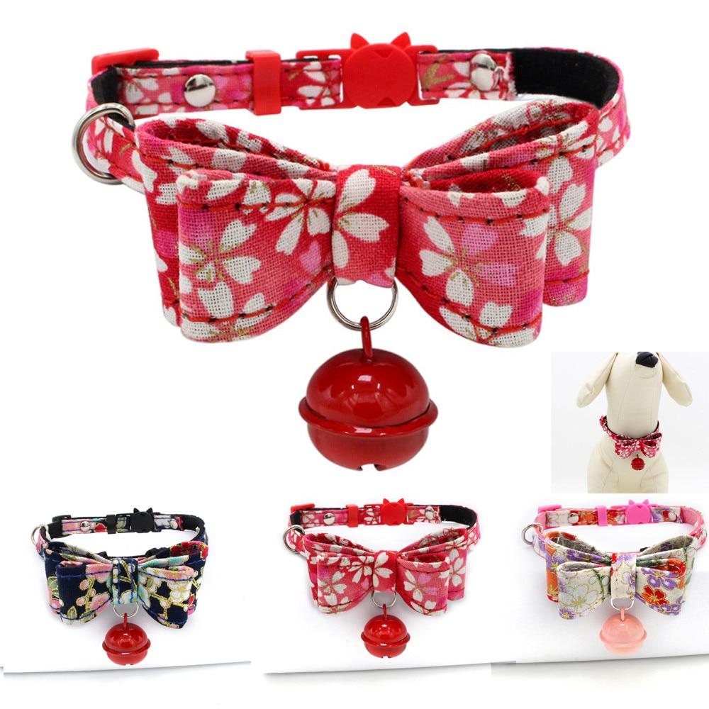 Accesorios ajustables Para mascotas con lazo Para Gatos, Collar Para Perro, cachorro...