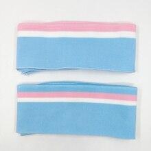 JIETAI-tissu côtelé coloré   Tissu côtelé tricoté 1 × 1 bricolage, accessoires en tissu, col, poignets, ourlet, matériel DTY, printemps et été