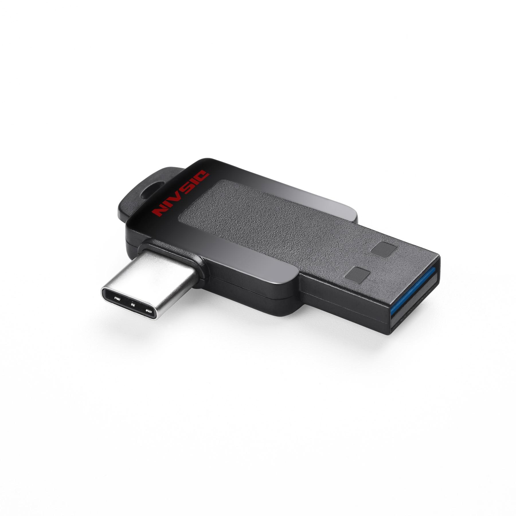 Mini  usb c flash drive  Dual flash disk  usb3.1Type C External Storage Memory Stick USB 3.0 Drive for Android, Pc, Smartp