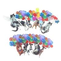 Ornement de voiture suspendu avec ballon colore  nouveau dessin anime creatif  Animal mignon  amusant  fournitures de decoration pour la maison  vente en gros  1 piece