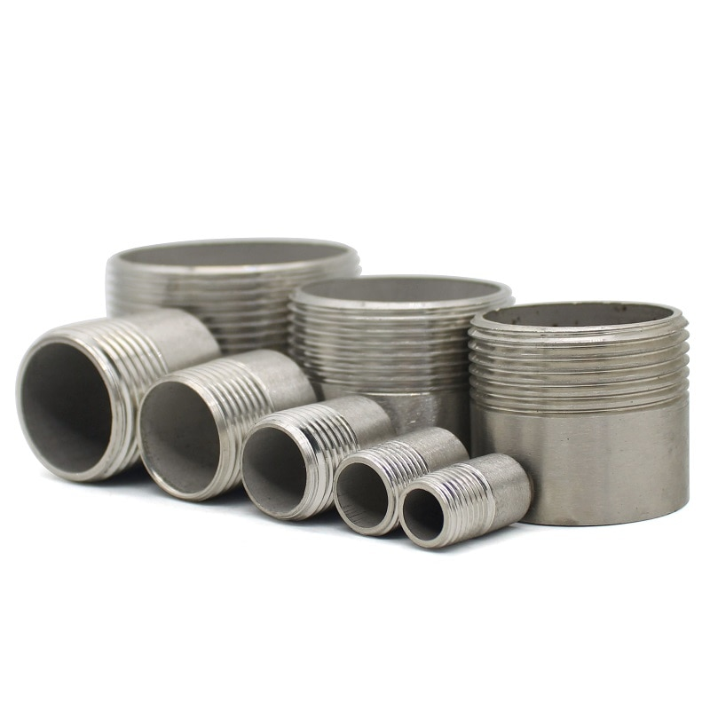 Фото - Water connection 1/4 3/8 1/2 3/4 1 1-1/4 1-1/2 Male Threaded Pipe Fittings Stainless Steel SS304 water connection adpater 1 8 1 4 3 8 1 2 3 4 1 1 1 4 1 1 2 female threaded pipe fittings stainless steel ss304