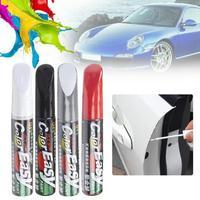 Car Paint Scratches Repair Pen Brush Waterproof Paint Marker Pen Car Tyre Tread Care Automotive Maintain Black White Red Silver