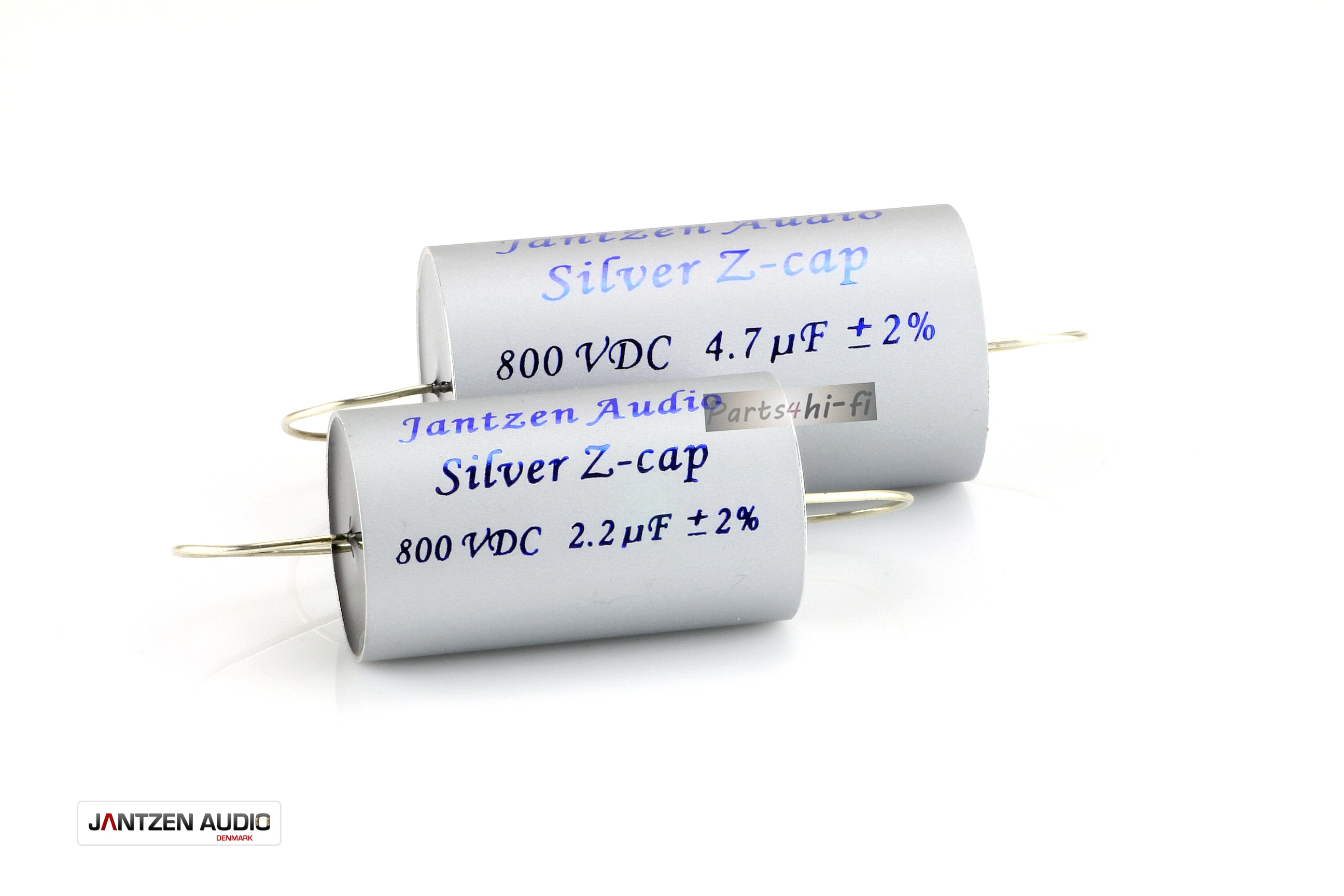 2pcs/lot Denmark jantzen-audio Silver Z-Cap MKP fever crossover coupling audio capacitor free shipping