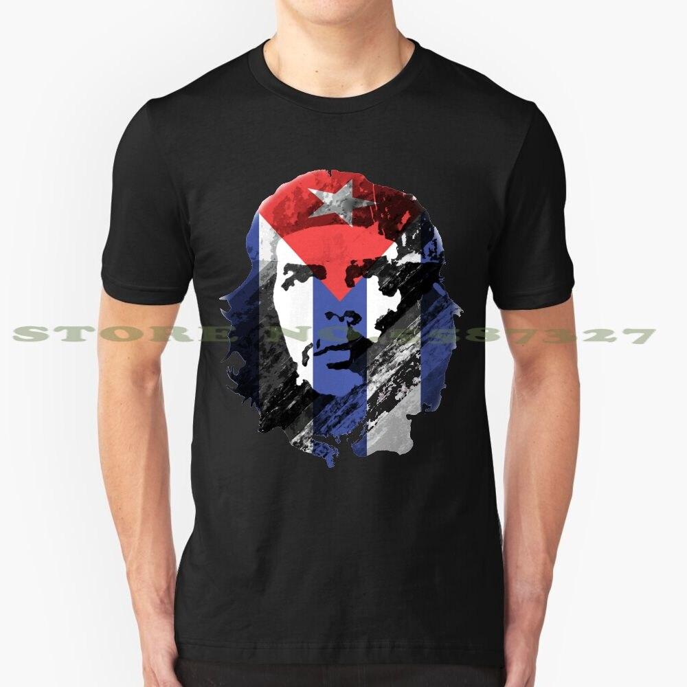 Che Guevara de moda Vintage camiseta T camisas Che Guevara Cuba revolución líder militar de la política