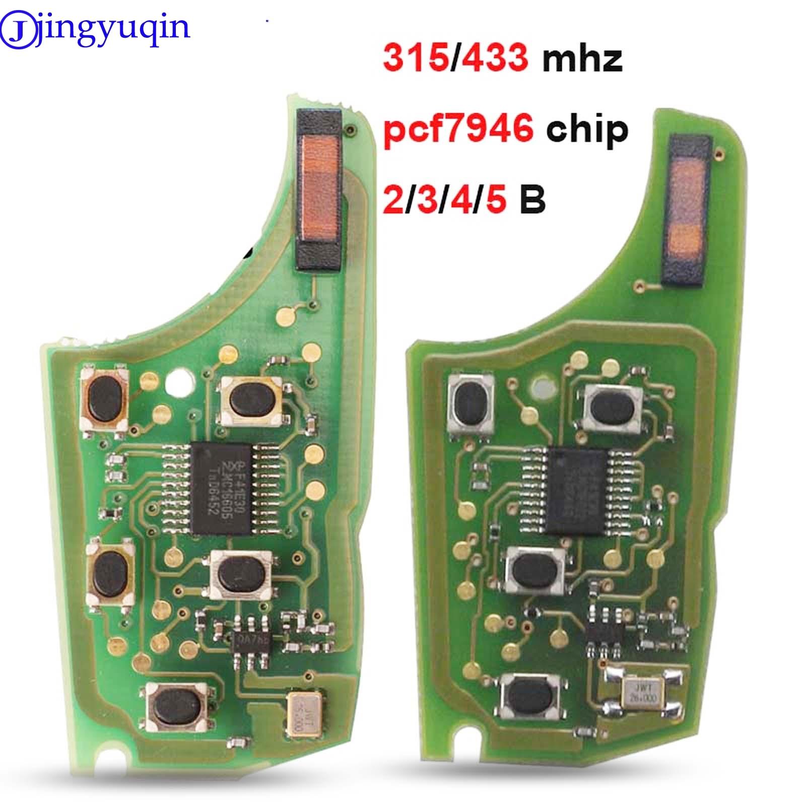 Jingyuqin 315/434 МГц 10p Автомобильная сигнализация дистанционный ключ печатная плата электронная для Chevrolet Malibu Cruze Aveo Spark Sail 2/3/4/5 кнопка