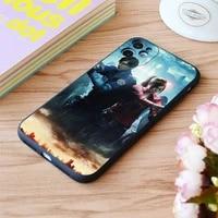 for iphone robin female fire emblem version sunset print soft matt apple iphone case 6 7 8 11 12 plus pro x xr xs max se