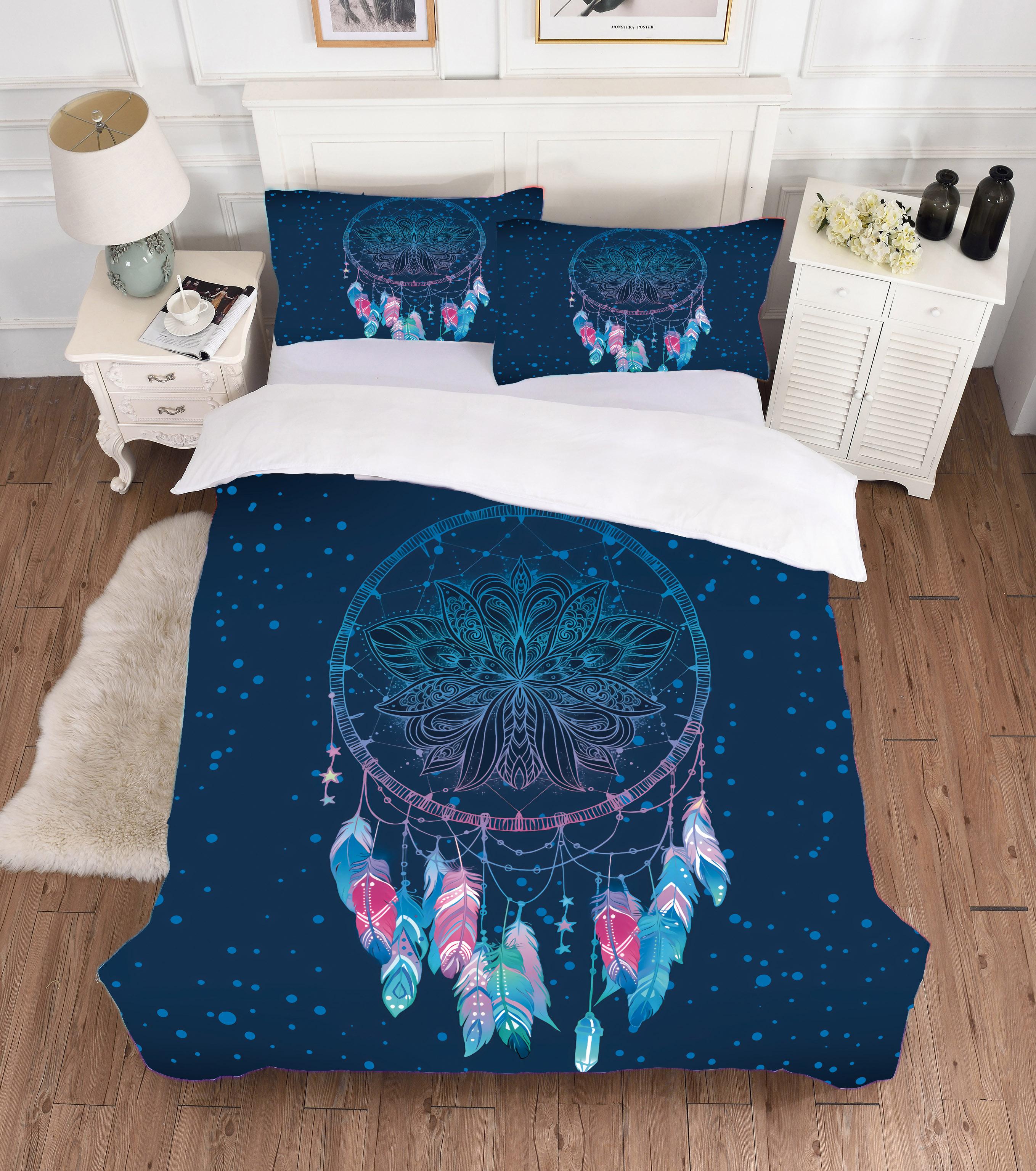 Комплект постельного белья с 3D принтом, Комплект постельного белья разных стилей, пододеяльник, одеяло, новый комплект постельного белья, х... комплект постельного белья ecotex марлен