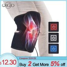 1pc électrique infrarouge chauffage genou soutien ceinture thérapie thermique arthrite genou attelle soulagement douleur articulaire genou Massgaer