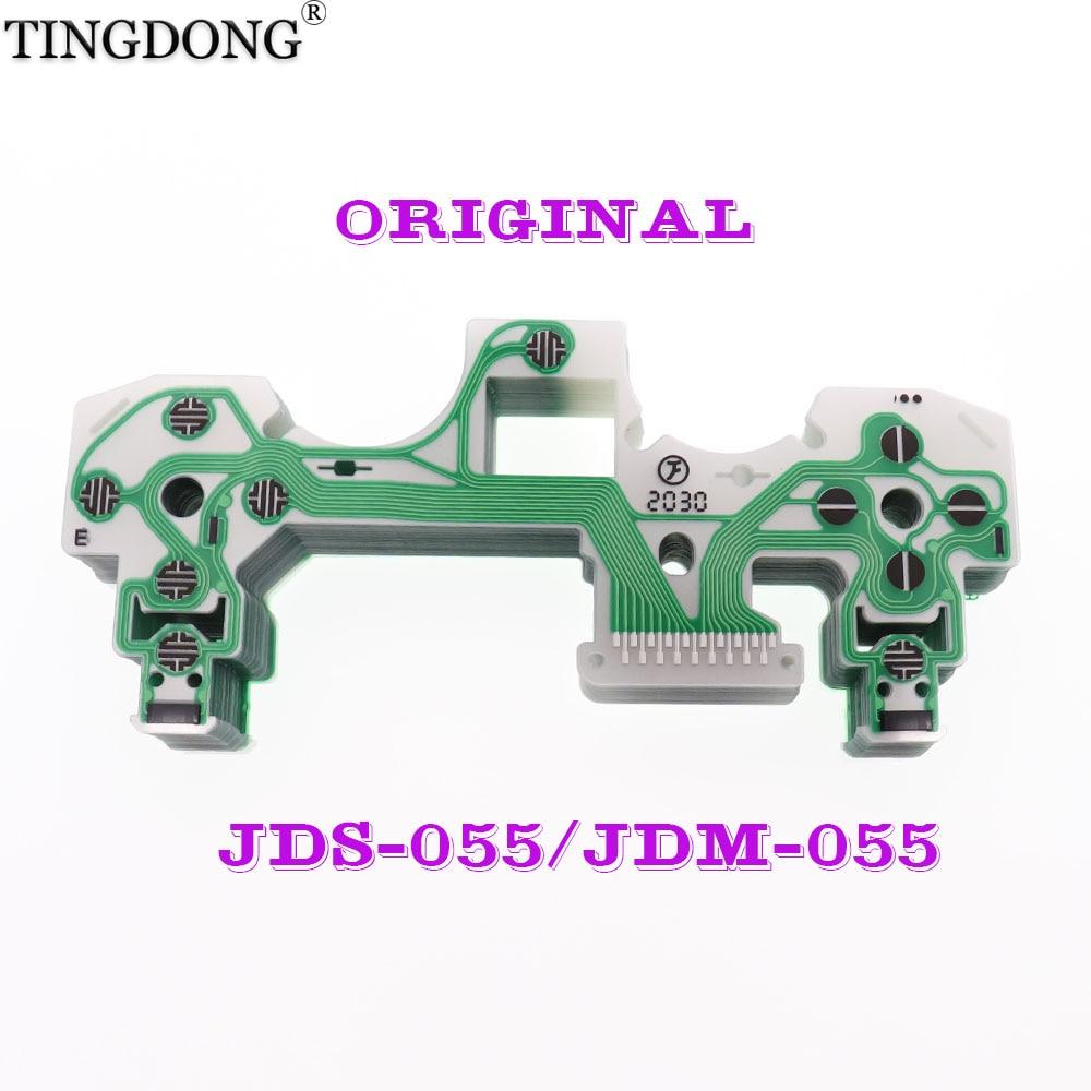 1 шт., оригинальный новый гибкий кабель для ps4 проводящая пленка для контроллера, запасная часть для джойстика ps4, JDS-055 JDM-055