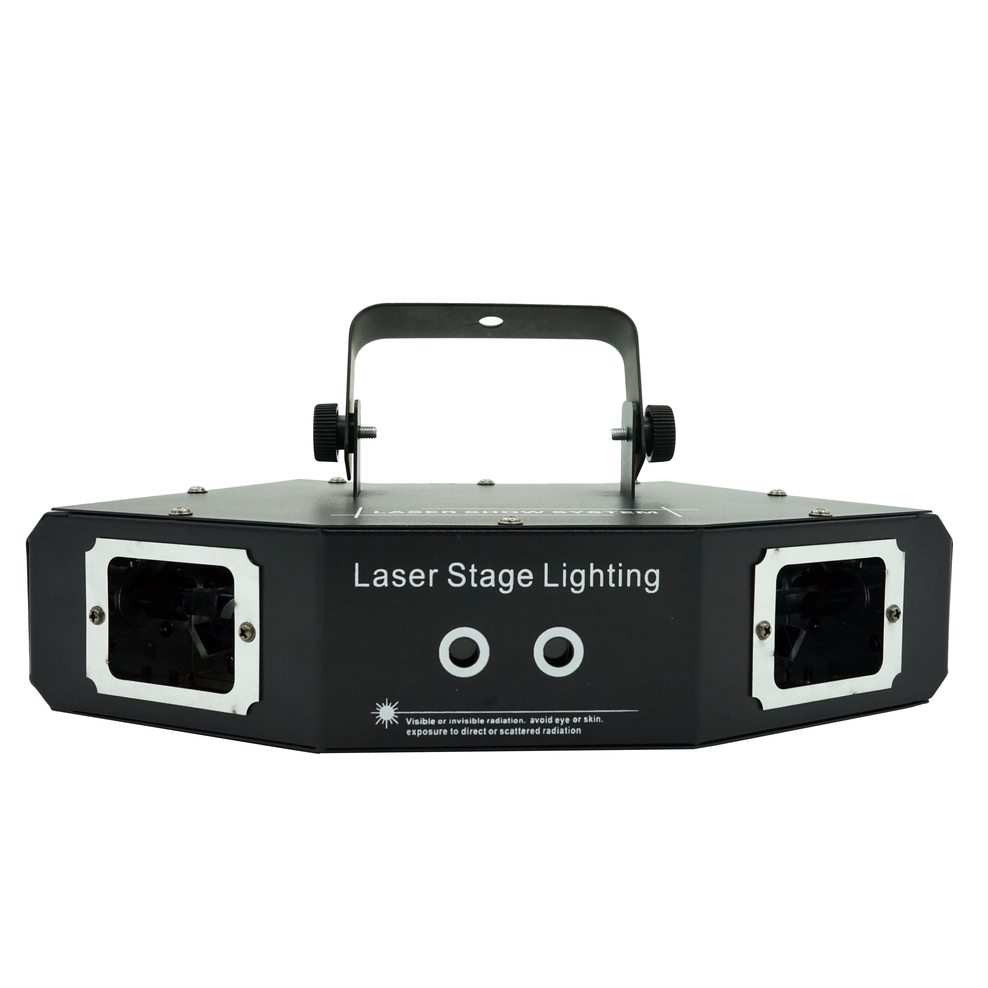 Hot Selling Laser Disco Lamp RGB Beam Scanning DMX 512 Professional Activities DJ Club High Brightness Stage Lighting