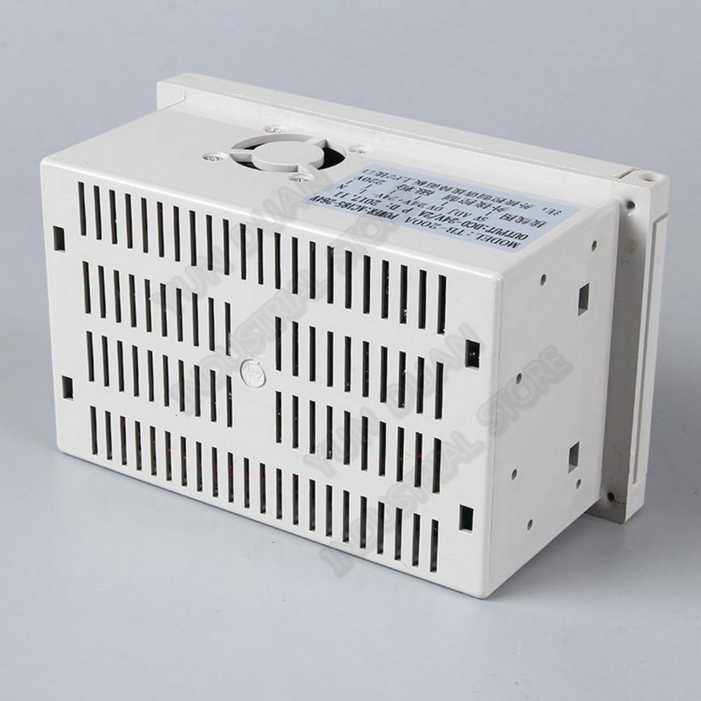 Manual Digital Tension Controller 185V-265VAC 220V  24V DC Output 0- 3A Magnetic Powder Brake Clutch  Potentiometer PLC Control